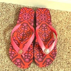 Used Tory Burch Flip Flops